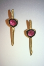 Bicolor Tourmaline Earrings